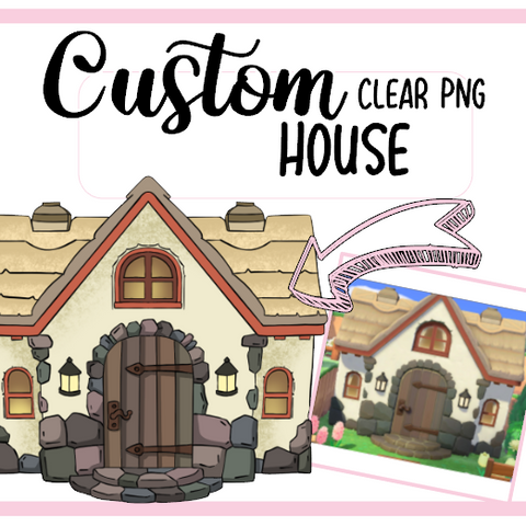 24h Livraison EXPRESS : TA Maison Animal crossing Clipart Digital