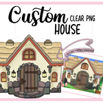 TA Maison Animal crossing Clipart Digital