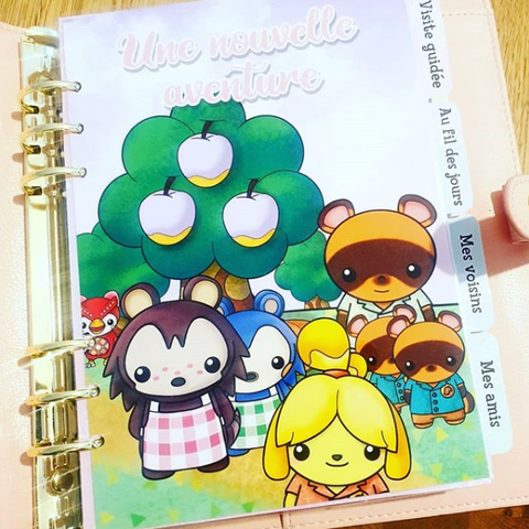 Planner digital Animal Crossing A5 DIGITAL à imprimer