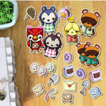 Animal Crossing Personnages Pastels Die Cuts à imprimer