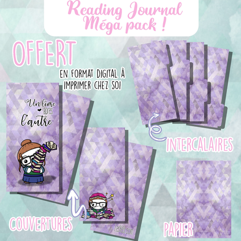 Reading Journal collection complète 💜