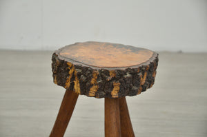 Primitive Table & Stool, 1960s