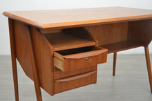 Load image into Gallery viewer, Mid Century Teak Desk by Tibergaard, 1960s