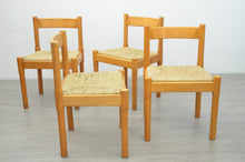 Load image into Gallery viewer, Set of Four Carimate Dining Chairs by Vico Magistretti