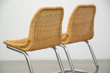 Load image into Gallery viewer, Pair of Dutch Rattan Chairs