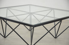 Load image into Gallery viewer, Paolo Piva Style Glass Coffee Table
