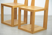 Load image into Gallery viewer, Pair of Modernist Oak Chairs