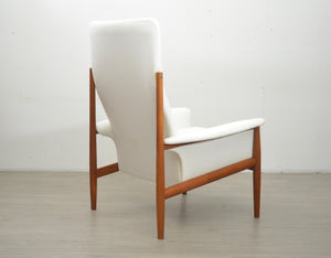 High Back Lounge Chair by Grete Jalk for France & Son, 1960s
