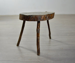 Rustic French Stool