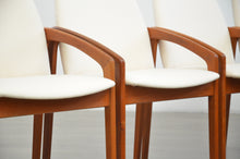Load image into Gallery viewer, Set of Four 'Paper-Knife' Dining Chairs in the Style of Kai Kristiansen