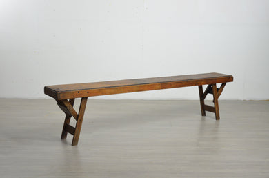 Vintage School Foldable Bench
