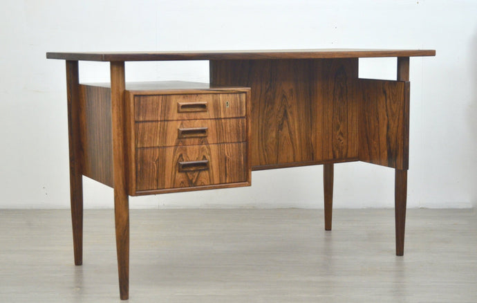 Mid Century Danish Desk in Rosewood