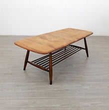 Load image into Gallery viewer, Mid Century Ercol Coffee Table with Magazine Rack