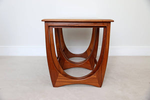 Mid Century Nest of G-Plan Quadrille Tables