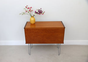 Mid Century Tapley Drinks Cabinet or Cupboard on Hairpin Legs