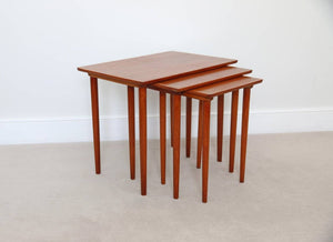 Danish Mid Century Nest of Tables by Bramin