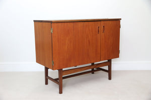 Metamorphic Scandanaivian Influence Drinks Cabinet or Sideboard in Teak.