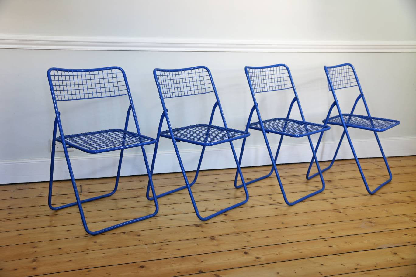 Sensational Set Of 4 Ted Net Chairs By Niels Gammelgaard For Ikea 1979 Squirreltailoven Fun Painted Chair Ideas Images Squirreltailovenorg
