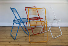 Load image into Gallery viewer, Set of Four Multi Coloured Dining Chairs by Niels Gammelgaard for IKEA, 1979
