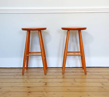 Load image into Gallery viewer, Pair of Vintage Stools by Hagafors