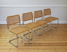 Load image into Gallery viewer, Mid-Century Modern Italian Cesca Chairs by Marcel Breuer, 1970s
