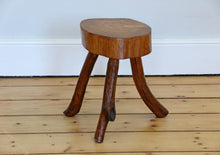 Load image into Gallery viewer, Rustic Milking Stool