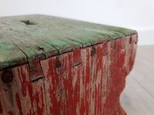 Load image into Gallery viewer, Hungarian Milking Stool with Original Paint