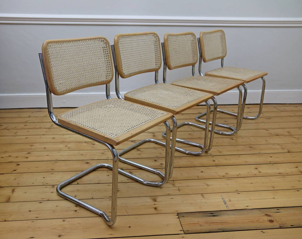 4 X Cesca Style Stacking Chairs