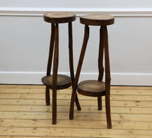 Load image into Gallery viewer, Primitive Timber Stools, 1960s