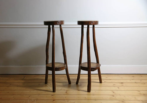 Primitive Timber Stools, 1960s