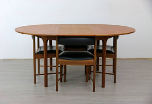 Mid Century Teak Dining Table and 4 X Chairs by McIntosh, 1960s