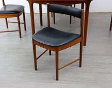 Load image into Gallery viewer, Mid Century Teak Dining Table and 4 X Chairs by McIntosh, 1960s