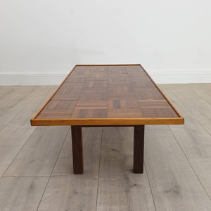 Vintage Parquet Coffee Table
