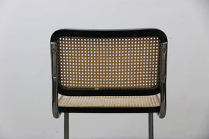 1 X Black Cesca Style Chair after Marcel Breuer