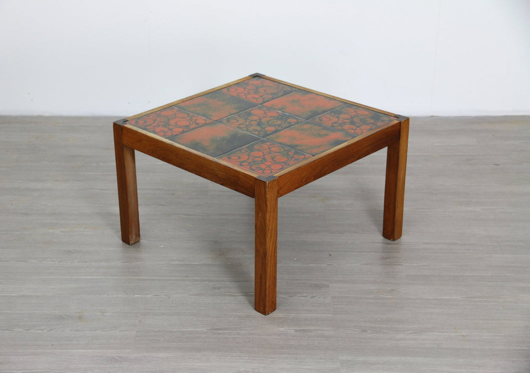 Danish Style Tiled Mid Century Coffee Table