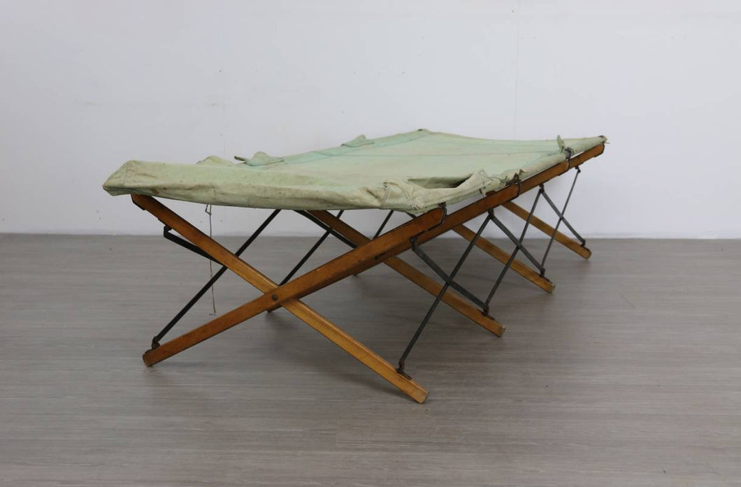 Folding Campaign Bed