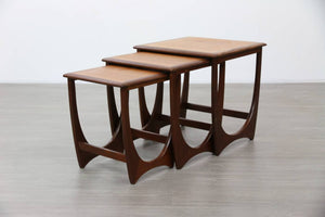 G-Plan Nest of Tables, 1970s
