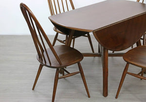 Mid Century Ercol Dining Table and 4 X Chairs