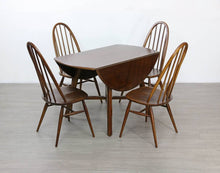 Load image into Gallery viewer, Mid Century Ercol Dining Table and 4 X Chairs