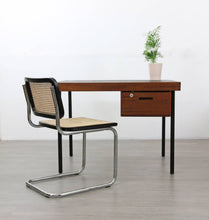 Load image into Gallery viewer, Mid Century Industrial Style Desk