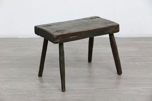 Wooden Milking Stool, 1960s