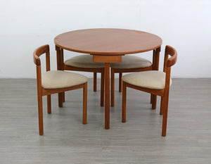 Dining Set by Hans Olsen for A.B.J