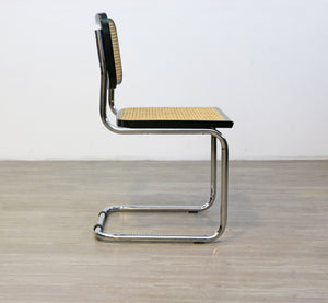 Black Cesca Style Cantilevered Chair