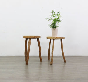 Pair of French High Stools