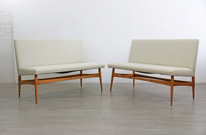 Pair of Danish Mid Century Sofas