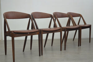 Set of Four Model 31 Dining Chairs by Kai Kristiansen