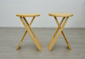 Pair of Suzy Stools by Roger Tallon