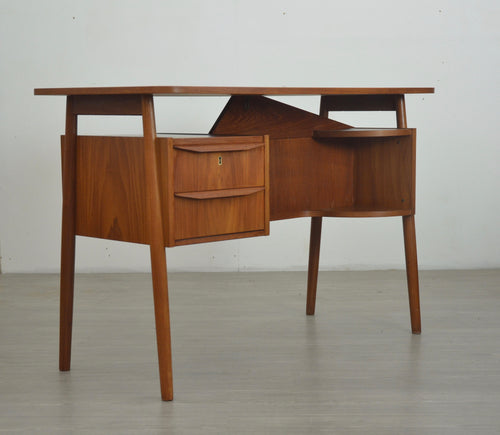 Midcentury Teak Desk by Tibergaard, Danish c.1960