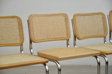 Load image into Gallery viewer, Set of Four Cesca Style Cantilevered Chairs