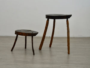 Pair of Handmade French Stools